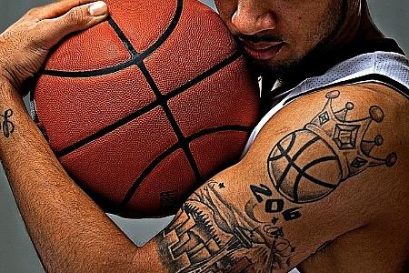 Татуировки: баскетбол (33)