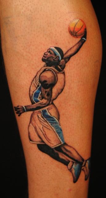 Татуировки: баскетбол (8)