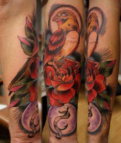 красивые татуировки на руке (4)