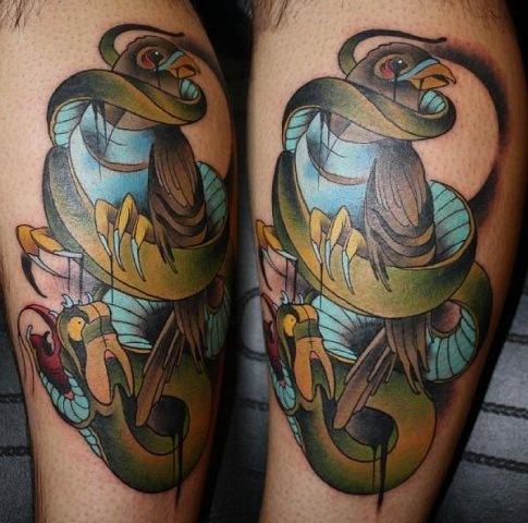 красивые татуировки на ногах (9)