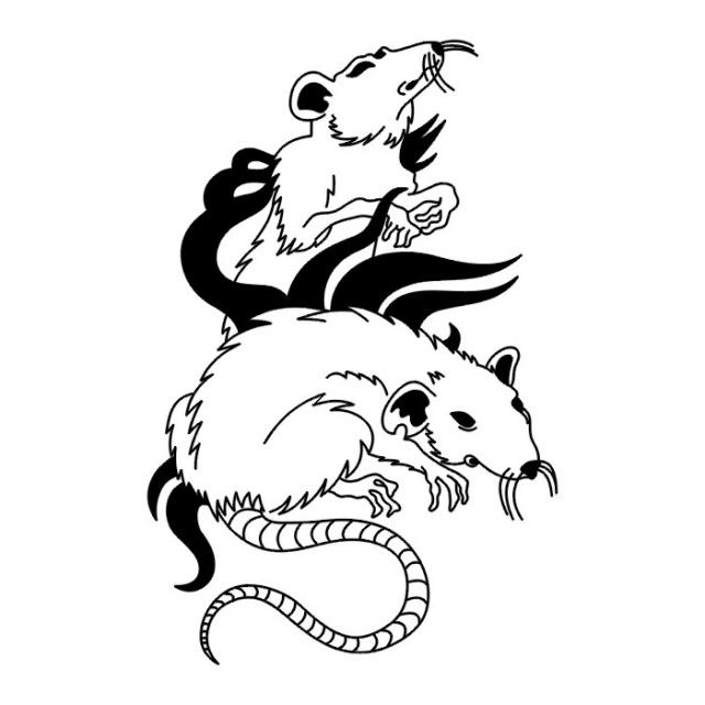 эскизы татуировки крыс (7)