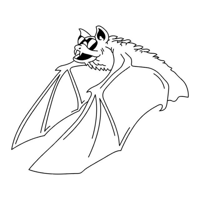 эскизы татуировки летучей мыши (6)