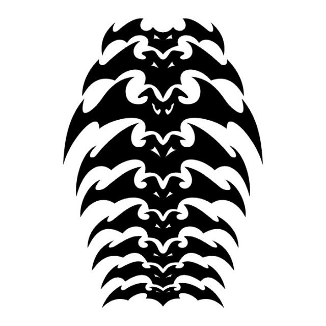 эскизы татуировки летучих мышей (5)