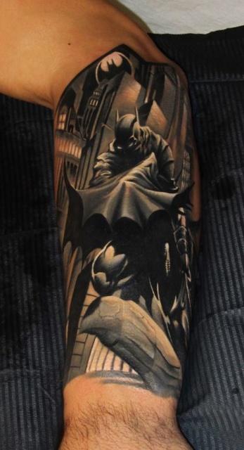 Татуировка Бэтмена