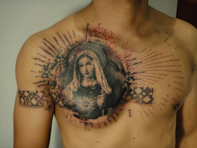 Тату мастера татуировщика xoil на