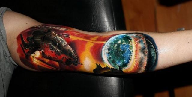 На руках фото татуировок руки