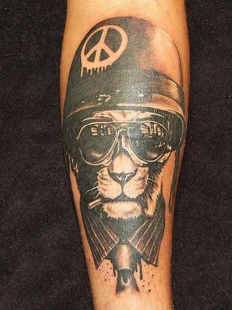 Кот-татуировка (4)