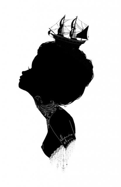 цветные и черно-белые эскизы (73)