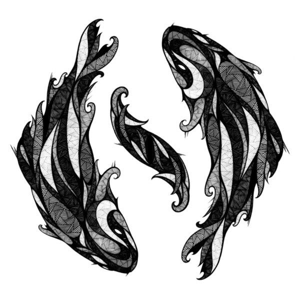 цветные и черно-белые эскизы (24)