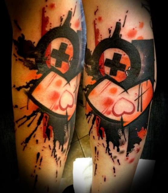 Необычайные татуировки сердца (7)