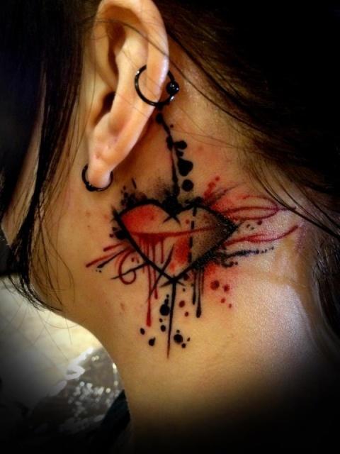 Необычайные татуировки сердца (3)
