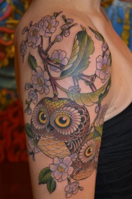Татуировка Сова (1)