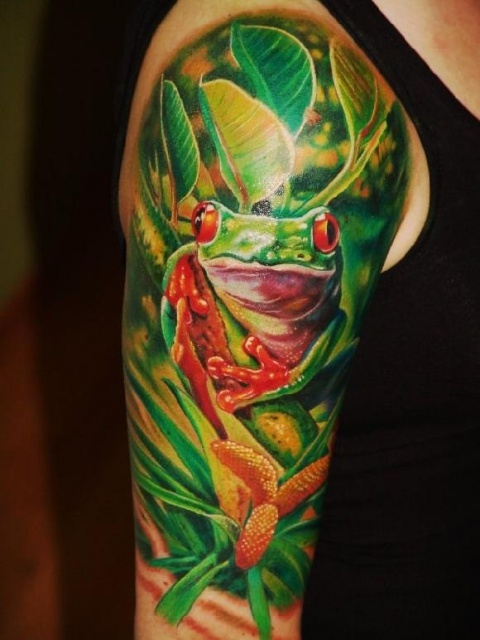 Татуировки жабы 2013