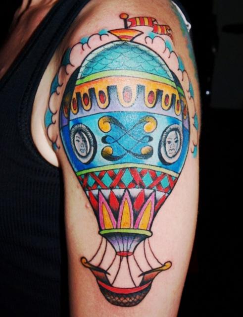 Татуировки воздушного шара (1)