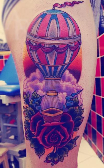 Татуировки воздушного шара (2)