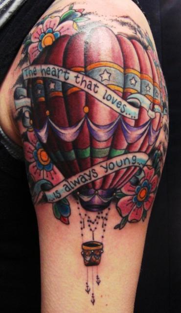 Татуировки воздушного шара (3)