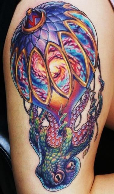 Татуировки воздушного шара (4)