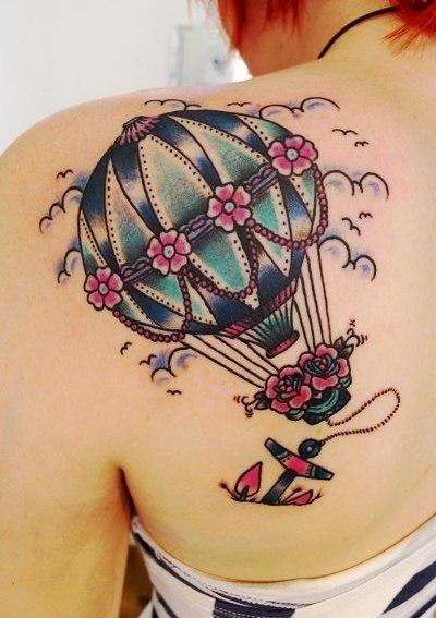 Татуировки воздушного шара (5)
