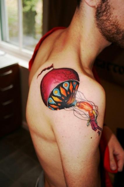 Татуировки воздушного шара (7)