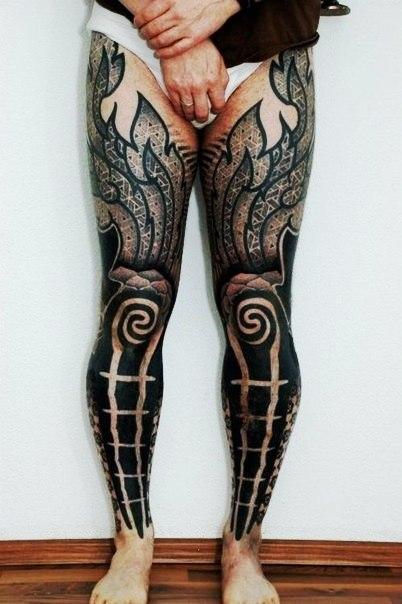 Блэкворк татуировки (1)
