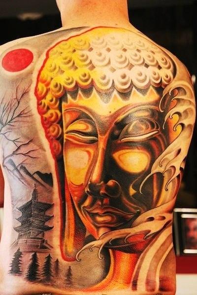 Татуировки: Великий Будда (6)