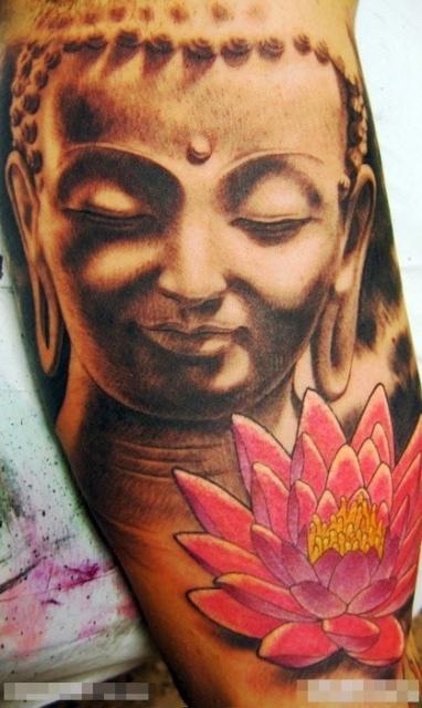 Татуировки: Великий Будда (1)