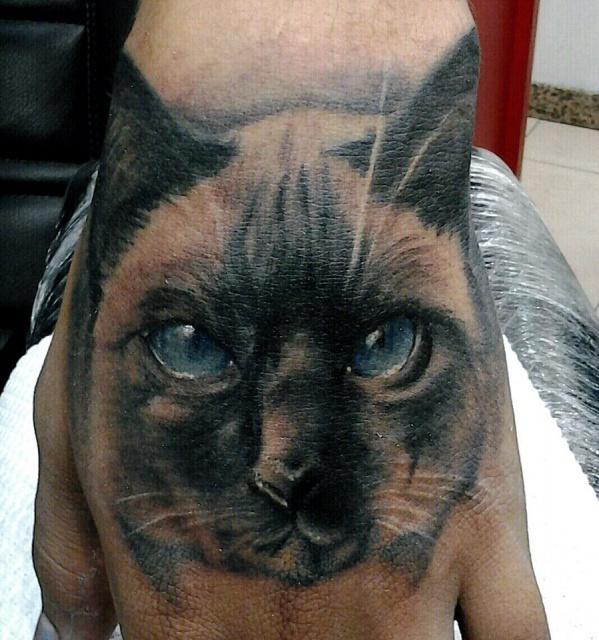 Красивые татуировки котов (2)