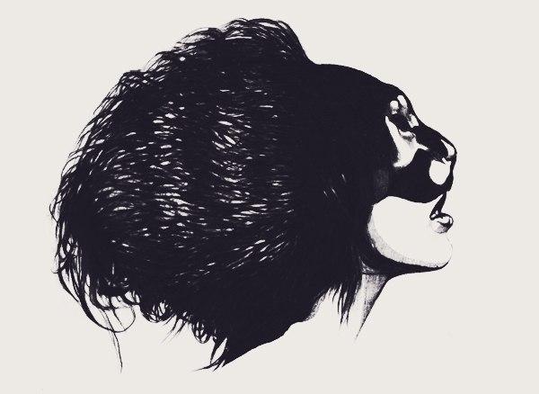 Черно-белые эскизы 2013 (5)