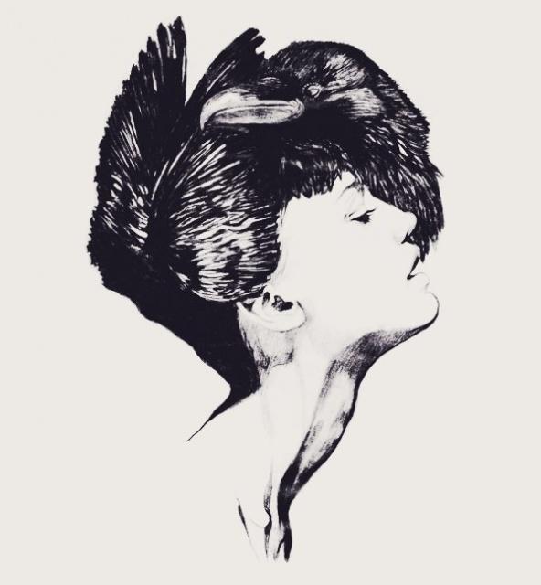 Черно-белые эскизы 2013 (4)
