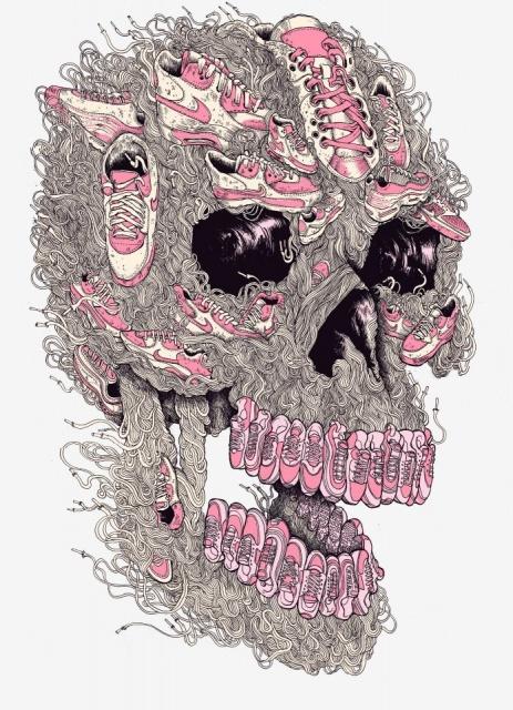 Эскизы черепов (1)