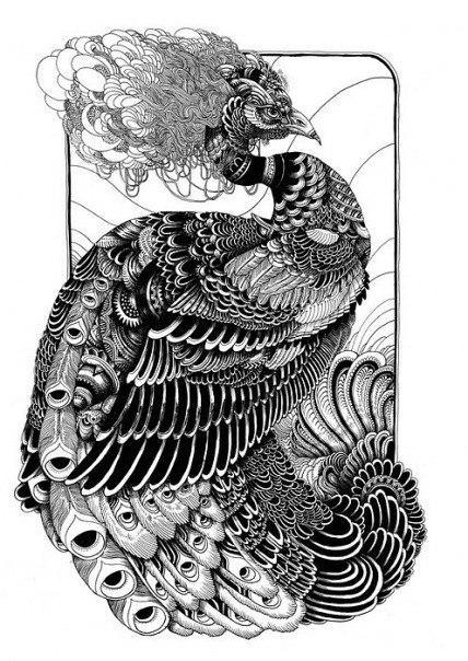 Животные эскизы татуировок бабочка