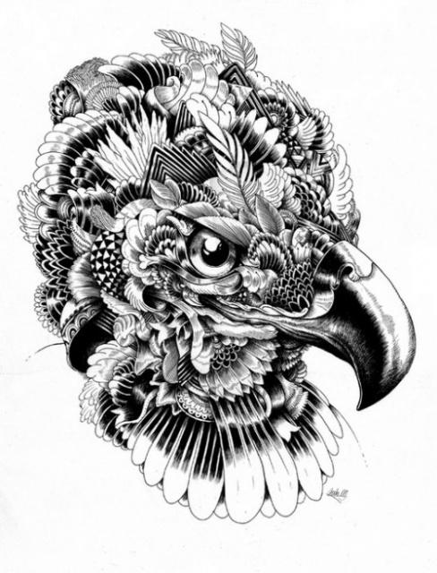 картинки татуировок животных