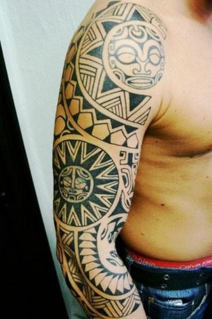 Этнические татуировки рука (2)