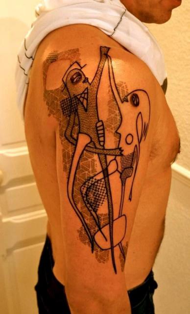 Татуировки графики (6)