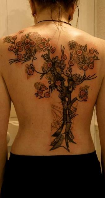 Татуировки графики (5)