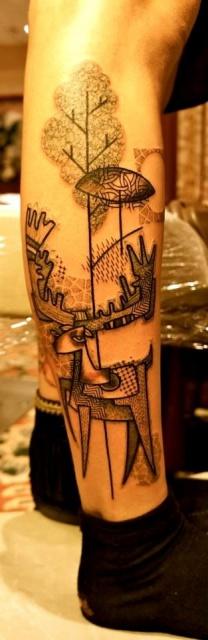 Татуировки графики (3)