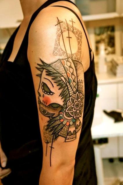 Татуировки графики (2)