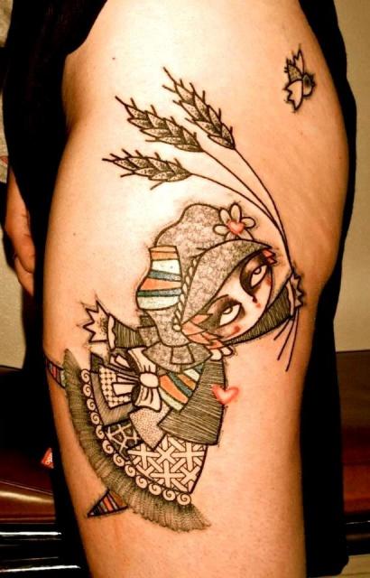 Татуировки графики (1)