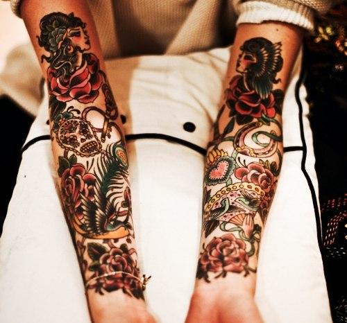 Красивые татуировки на руках (2)
