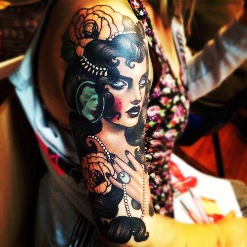 Красивые татуировки на руках (3)