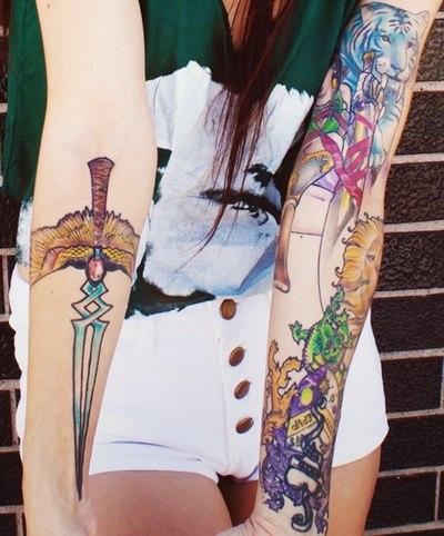 Красивые татуировки на руках (4)