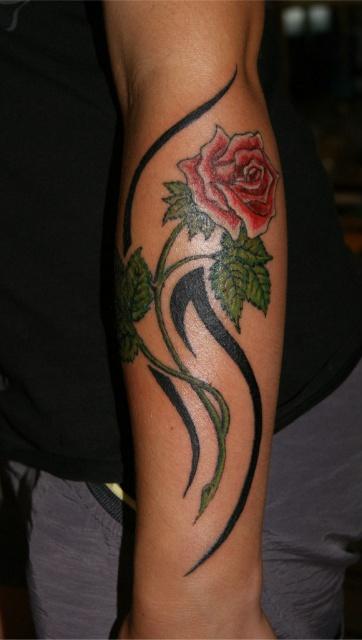 Татуировки на руках (10)