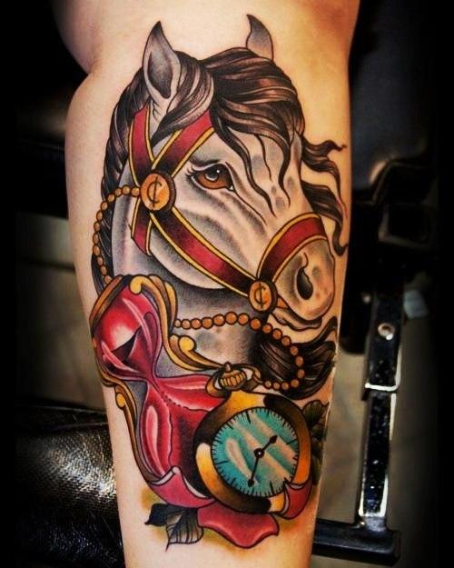 Татуировки лошадей (5)