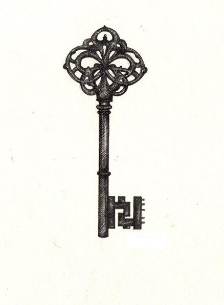 Тату ключи (4)