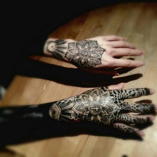 Татуировки на кистях рук (2)