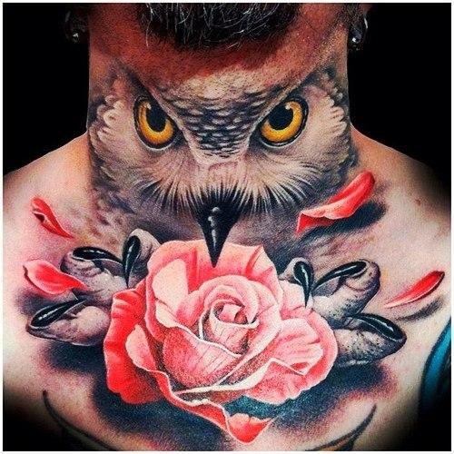 татуировки на шее (1)