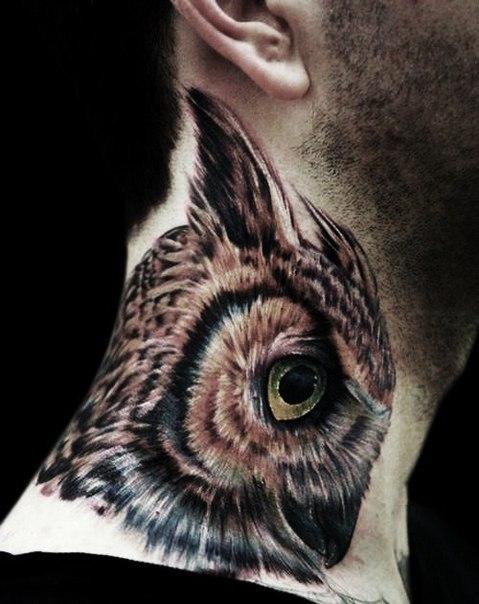 Татуировки на шее 1