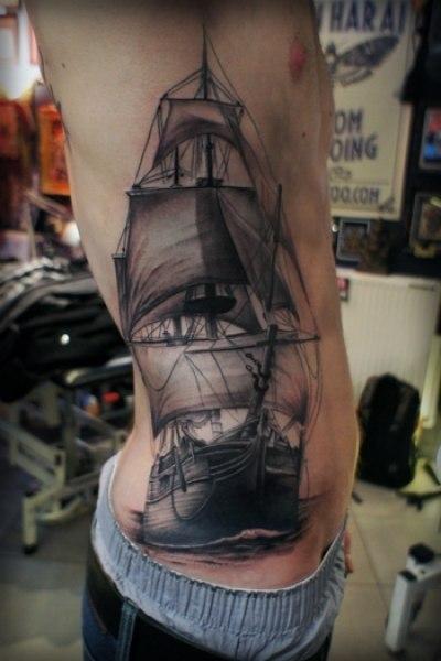 Татуировки кораблей (4)