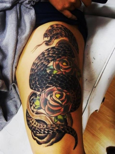 Татуировки змеи 2013 (3)