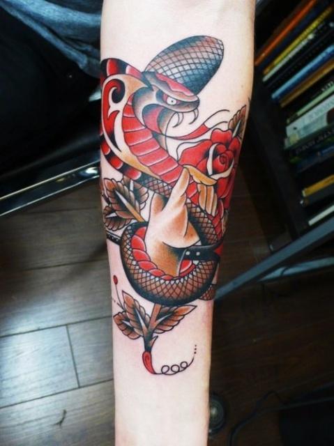 Татуировки змеи 2013 (5)